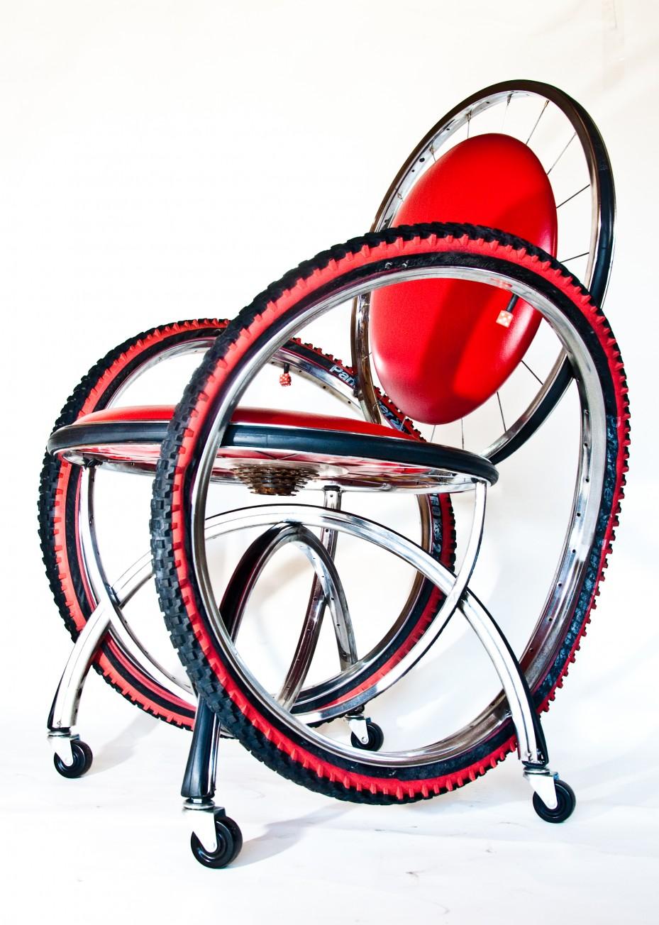 Unique furniture design - Amazing Andy Gregg Bike Furniture Andy Gregg Bike
