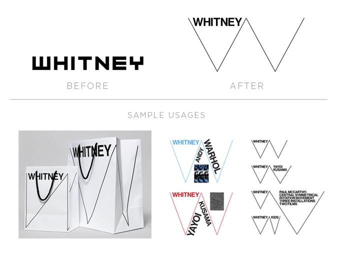 whitney logo redesign